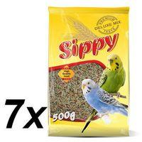 Akinu sippy deluxe - papużki faliste - 7 x 500g (8595184940317)