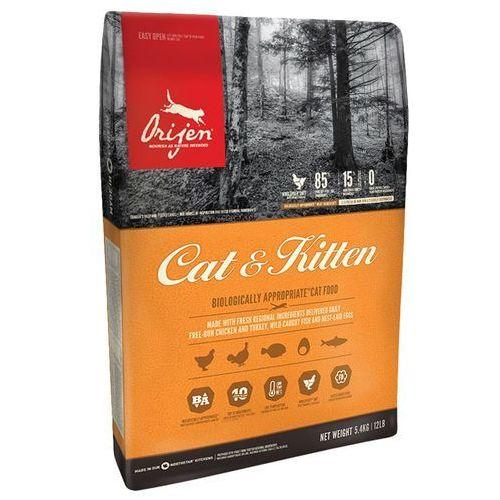 Orijen cat & kitten - 2 x 5,4 kg   dostawa gratis!