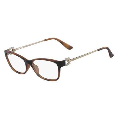 Salvatore ferragamo Okulary korekcyjne sf 2799r 214
