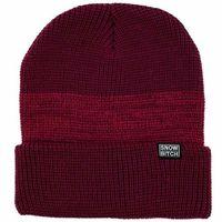 czapka zimowa SNOWBITCH - Bordový (BORDO) rozmiar: OS