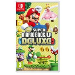 New Super Mario Bros U Deluxe Gra Nintendo Switch NINTENDO