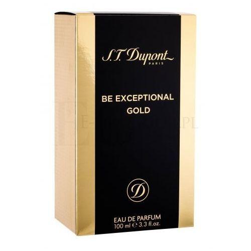 S.T. Dupont Be Exceptional Gold woda perfumowana 100 ml dla mężczyzn (3386460101295)