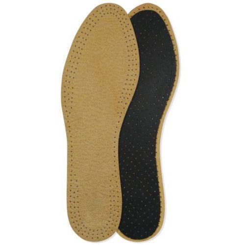 Skórzane wkładki do butów pekari z aktywnym węglem marki Mazbit