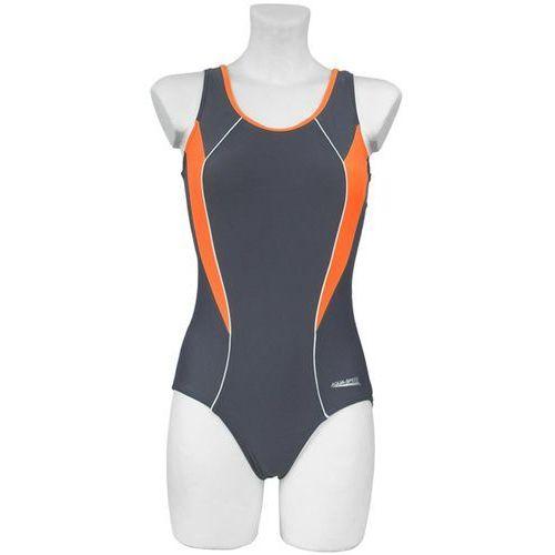 Aqua - speed Kostium kąpielowy damski kate aqua-speed (rozmiar: 40, kolor: szaro-pomarańczowy)