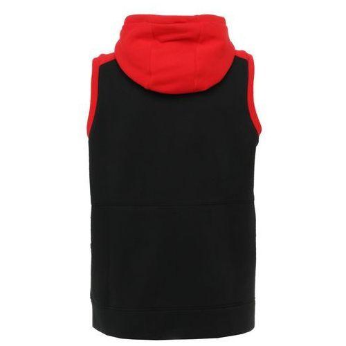 Nike Performance HOODIE VEST AIR Bluza rozpinana blackuniversity red, AO0201