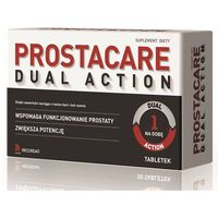 Tabletki PROSTACARE Dual Action x 60 tabletek