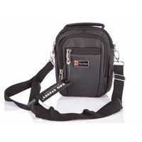 Pojemna mała torebka na ramię z dużą liczbą kieszonek