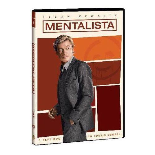Mentalista (sezon 4, 5 DVD) (7321909315518)