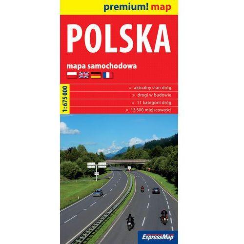 Polska mapa samochodowa Polski 1:675 000, Expressmap