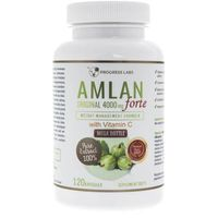 Progress Labs Amlan Forte (Agrest Indyjski) 4000 mg - 120 kapsułek (5906660414209)
