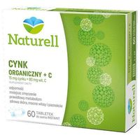 Cynk organiczny + C x 60 tabletek do ssania