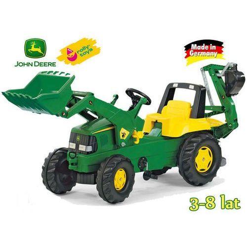 Rolly Toys Traktor Junior John Deere 2 Łyżki, 811076