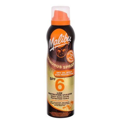 Malibu Continuous Spray Dry Oil SPF6 preparat do opalania ciała 175 ml dla kobiet, 79783 - Znakomita obniżka