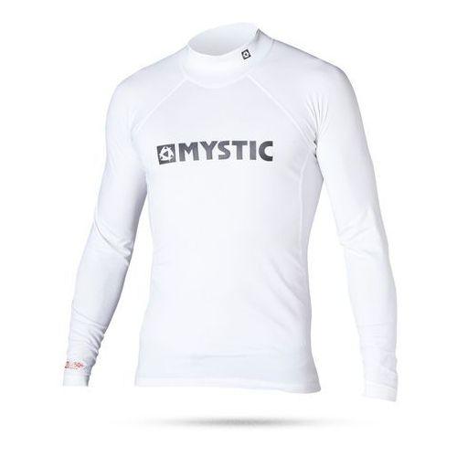Mystic Lycra 2016 star rashvest junior l/s white