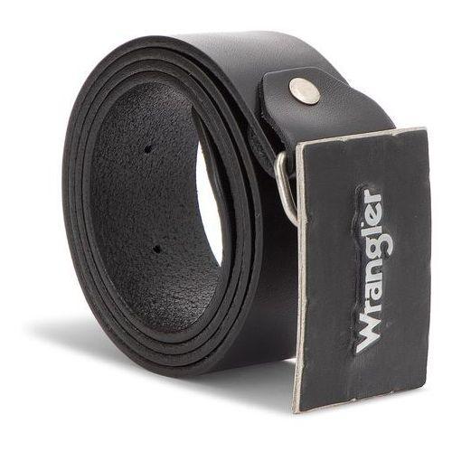 17dcb41e1e997f Pasek Męski WRANGLER - Metal Buckle Belt W0B588301 85 Black - zdjęcie Pasek  Męski WRANGLER -