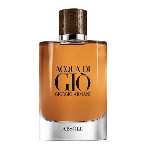 acqua di gio absolu woda perfumowana 125 ml dla mężczyzn marki Giorgio armani