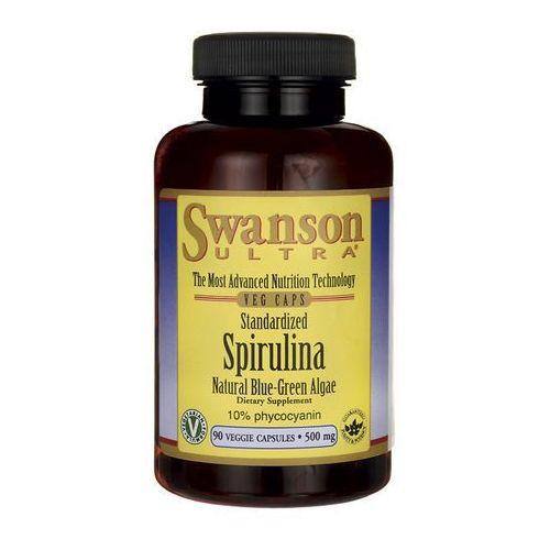 Kapsułki Swanson Spirulina standaryzowana 500mg 90 kaps