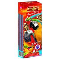 Vitapol Smakers owocowy kolby maxi dla dużych papug 2szt/450g