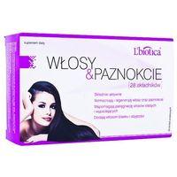 L'Biotica Włosy&Paznokcie Progr.Biovax 28 tabl.powl. - 30 tabl. (3 blist.po 10 szt.) (5907636934042)