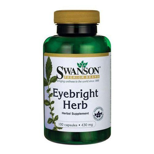 Kapsułki Swanson Eyebright Świetlik lekarski 430mg 100 kaps