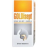GOLDisept spray do ust i gardła 25ml
