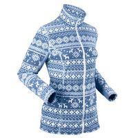 Bluza rozpinana z polaru bonprix niebieski kryształowy