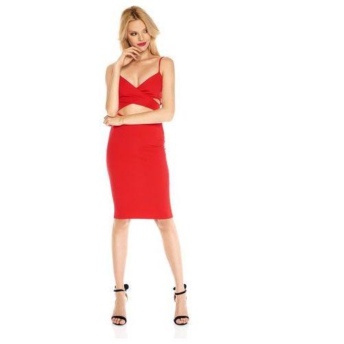 88efa9f9cb Sukienka Vicky w kolorze czerwonym (Sugarfree) - sklep SkladBlawatny.pl