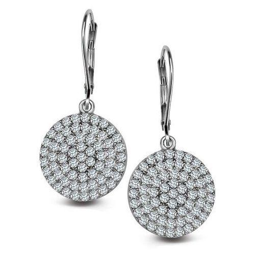 Kolczyki srebrne z cyrkoniami - 5,35g