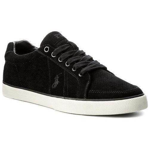 Sneakersy POLO RALPH LAUREN  Hugh 816665567004 Black kolor czarny