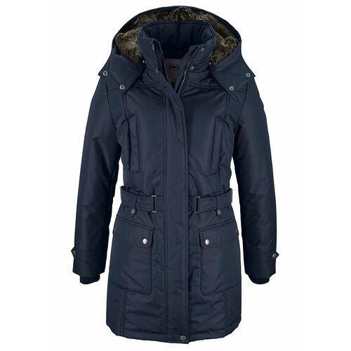 Płaszcz zimowy bonprix ciemnoniebieski, zimowy