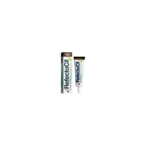 RefectoCil Sensitive, henna do koloryzacji brwi i rzęs - średni brąz, 15ml - Promocyjna cena