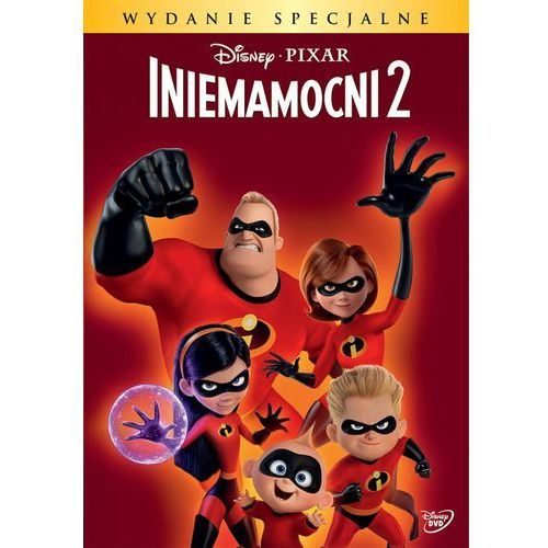 Iniemamocni 2 (dvd) edycja specjalna z odblaskowym brelokiem (płyta dvd) marki Brad bird