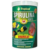 TROPICAL Spirulina Super Forte Granulat - pokarm roślinny dla rybek 30g