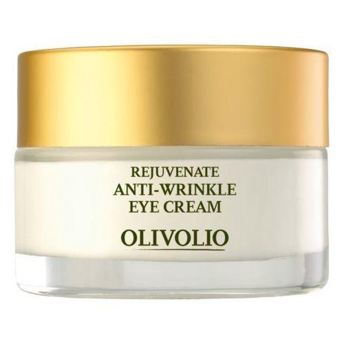 Przeciwzmarszczkowy krem pod oczy z oliwą,skwalenem i kofeiną 30ml Olivolio