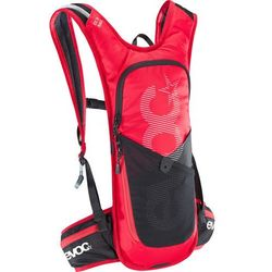 Evoc cc race lite performance backpack 3l + 2l bladder, red/black 2019 plecaki rowerowe