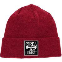czapka zimowa CIRCA - Combat Patch Beanie Classic Red (CLRD)