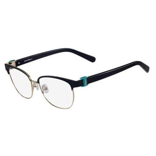 Salvatore ferragamo Okulary korekcyjne sf 2147 414