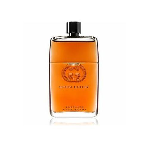 Gucci guilty absolute pour homme woda perfumowana 150 ml dla mężczyzn - Bombowa oferta