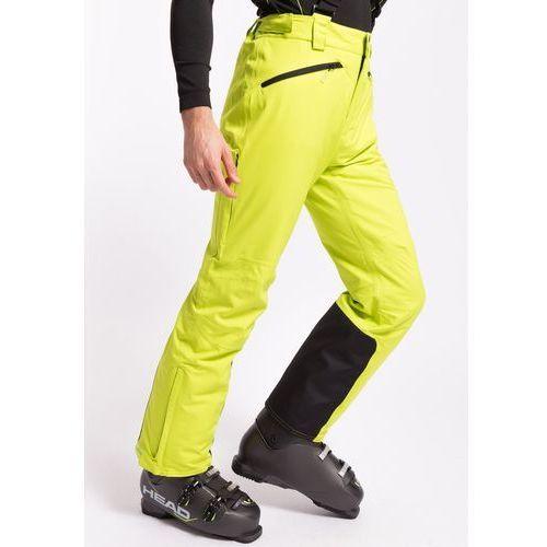 daad230f0 4f Spodnie narciarskie męskie spmn551z - limonkowy neon Najtaniej ...