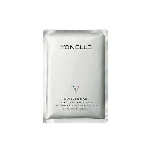 Yonelle h2o infusion s.o.s eye patches. 1 para infuzyjnych płatków pod oczy - yonelle. darmowa dostawa do kiosku ruchu od 24,99zł
