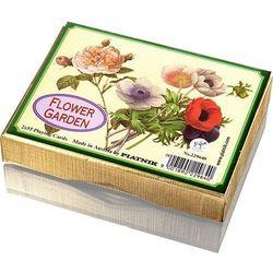 Piatnik Karty do gry ogród pełen kwiatów
