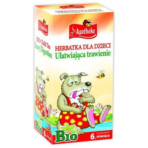 Apotheke bio herbatka dla dzieci ułatwiająca trawienie, 20 torebek