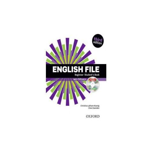 English File: Beginner: Student's Book & iTutor (9780194501835)