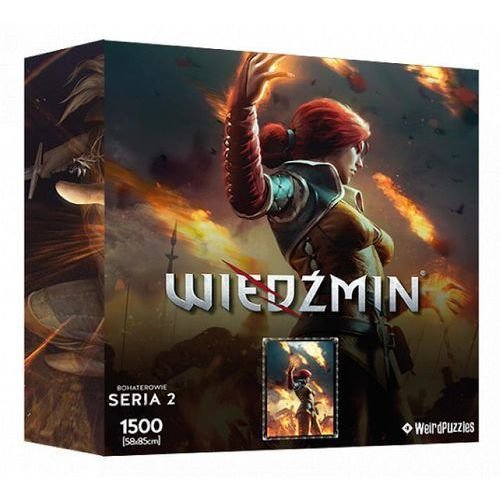 Cdp.pl software Puzzle cdp.pl bohaterowie wiedźmina - triss (seria 2) (5907610755595)