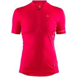 point koszulka rowerowa z zamkiem błyskawicznym kobiety, jam/boost l 2019 koszulki kolarskie marki Craft