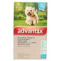 Bayer advantix dla psów od 4 do 10kg pipeta 1,0ml