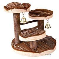 Zooplus exclusive Drewniane drzewo do wspinaczki dla chomików - dł. x szer. x wys.: 15 x 14 x 14 cm  -5% rabat dla nowych klientów  darmowa dostawa od 99 zł