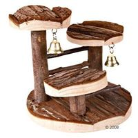 Zooplus exclusive Drewniane drzewo do wspinaczki dla chomików - dł. x szer. x wys.: 15 x 14 x 14 cm