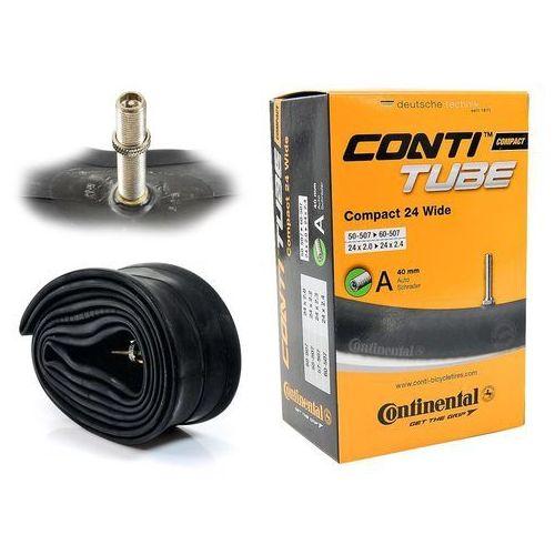 """Dętka Continental Compact 24'' x 2,0'' - 2,4'' wentyl auto 40 mm - AV / Samochodowy / Auto \ 507/544 - 24"""" \ 40 mm \ 2,0 - 2,4"""", CO0181321"""
