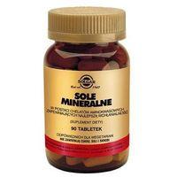 SOLGAR Sole mineralne 100% chelaty, 90 tabletek (033984007802)